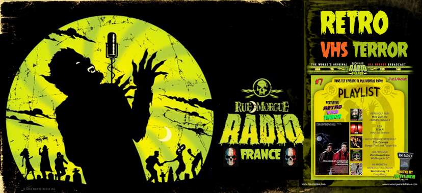 RUE MORGUE RADIO FRANCE is back in blood