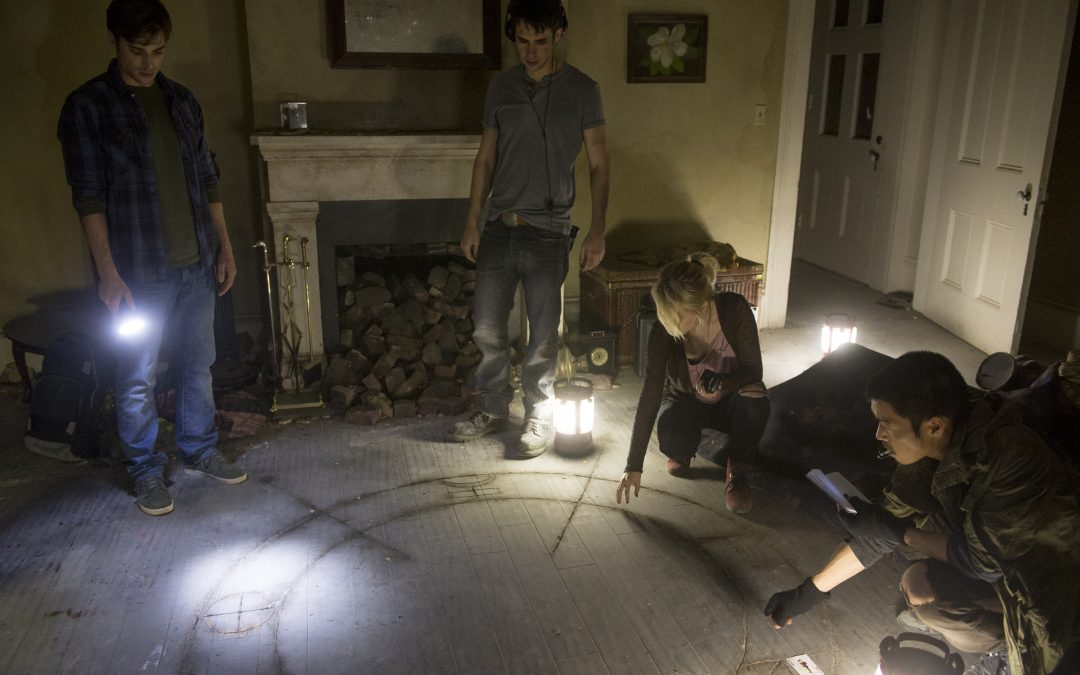 Long-delayed James Wan-produced DEMONIC sees the light of DVD; details, art, trailer
