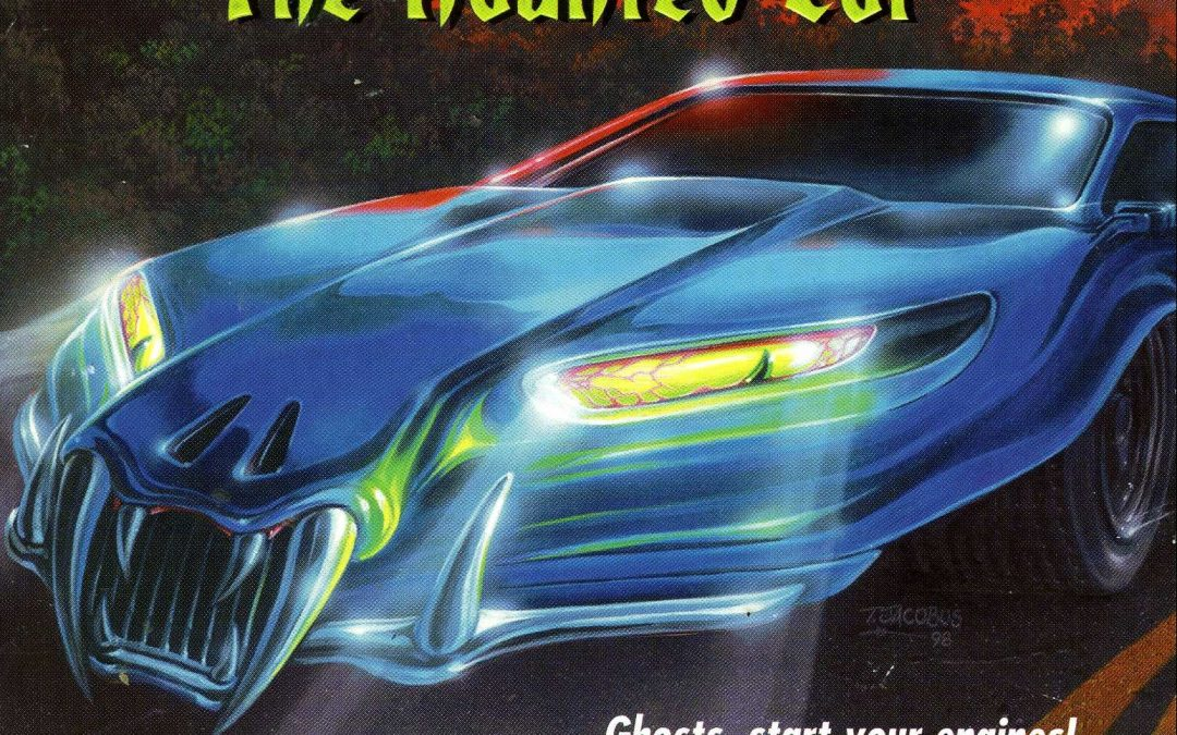 "FRIGHTS FOR TYKES takes you for a ride in ""THE HAUNTED CAR"""