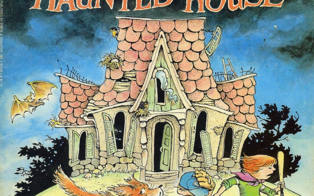 "FRIGHTS FOR TYKES TAKE REFUGE IN ""THE HAUNTED HOUSE"""