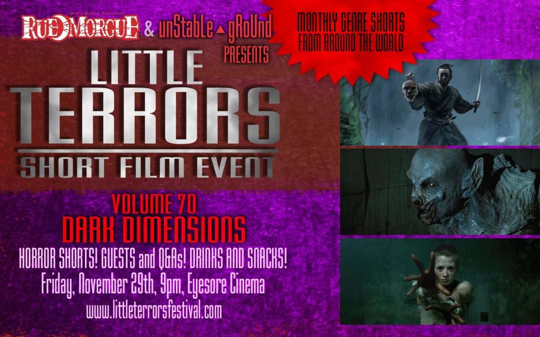 """Demons, Haunted Swordsmen, Cannibalism and more when """"LITTLE TERRORS"""" returns this week!"""