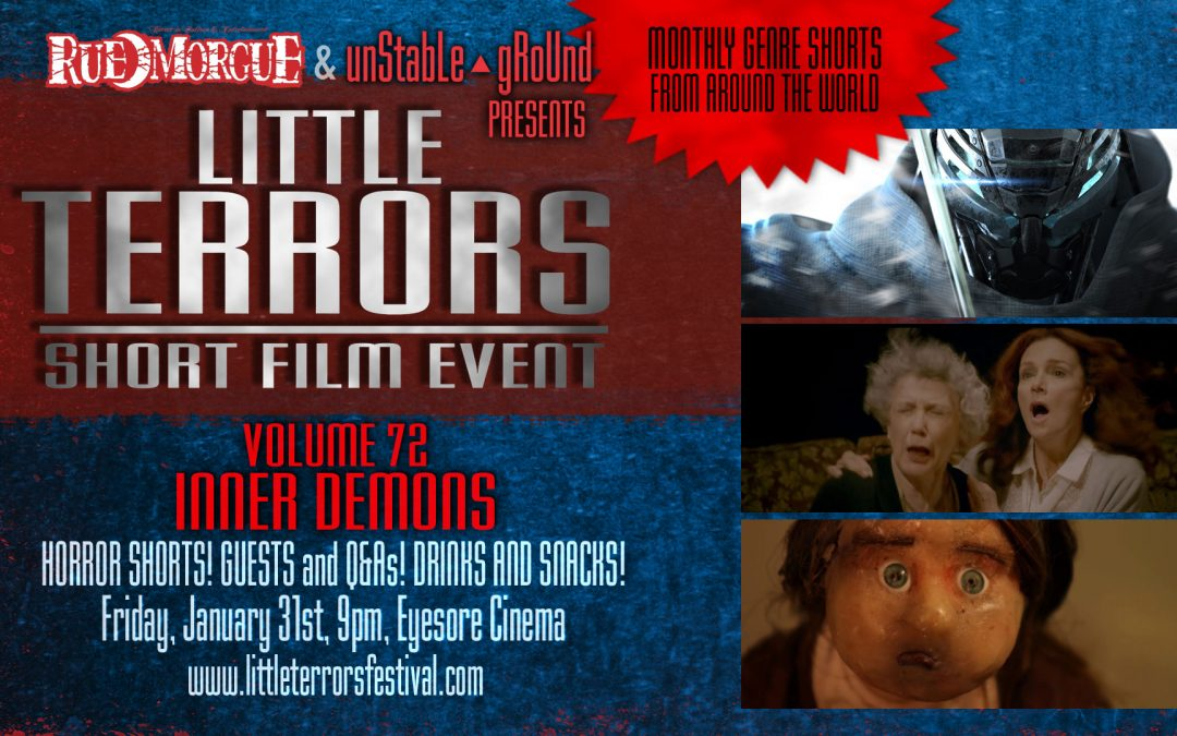 """""""LITTLE TERRORS"""" brings the horror from within this month"""