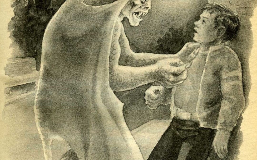 "This week on FRIGHTS FOR TYKES: ""THE MONSTER'S RING"""