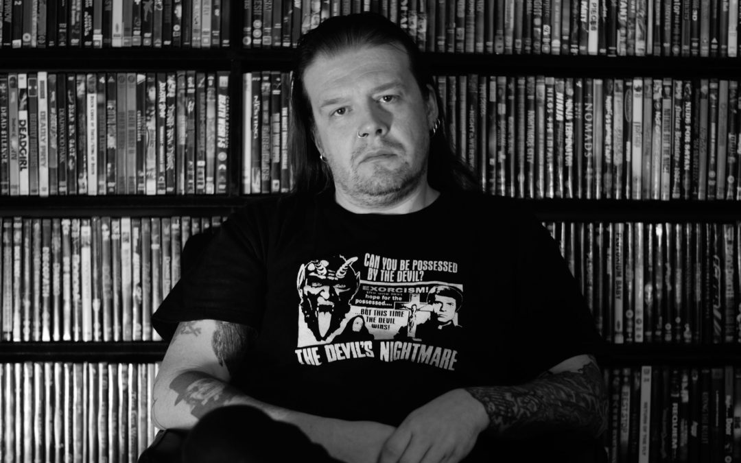 """Exclusive Interview: Denial of God Frontman Ustumallagam On His New Book """"The Reel Ghoul: The Diary of a Cinephile"""""""