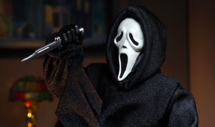 Neca Proves It Really Likes Scary Movies With New Ghostface Release
