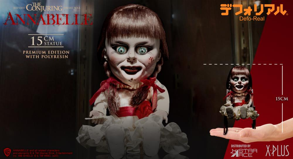 """The Defo-Real Series Conjures Up """"Annabelle"""" With Fantastic And Frightful Results"""