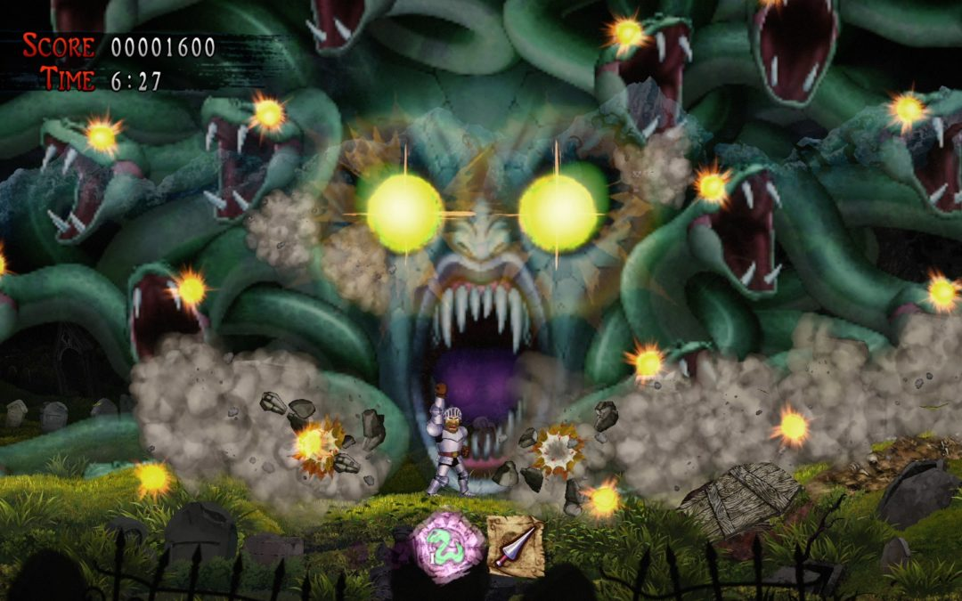 """Game Review: """"GHOSTS 'N GOBLINS RESURRECTION"""" is a ghastly good time"""