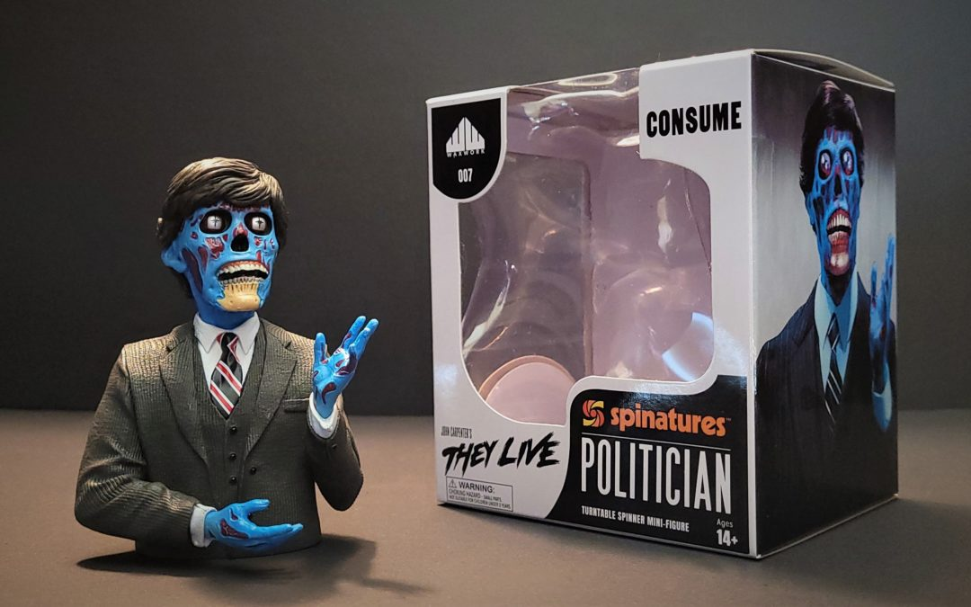 """""""They Live"""" Spinature From Waxwork Records is Here to Kick Ass"""