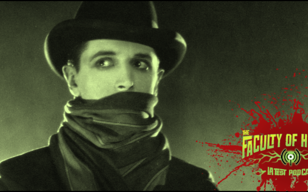"""The Faculty of Horror travels back to London 1888 for a look at JACK THE RIPPER movies """"THE LODGER"""" and """"FROM HELL"""""""