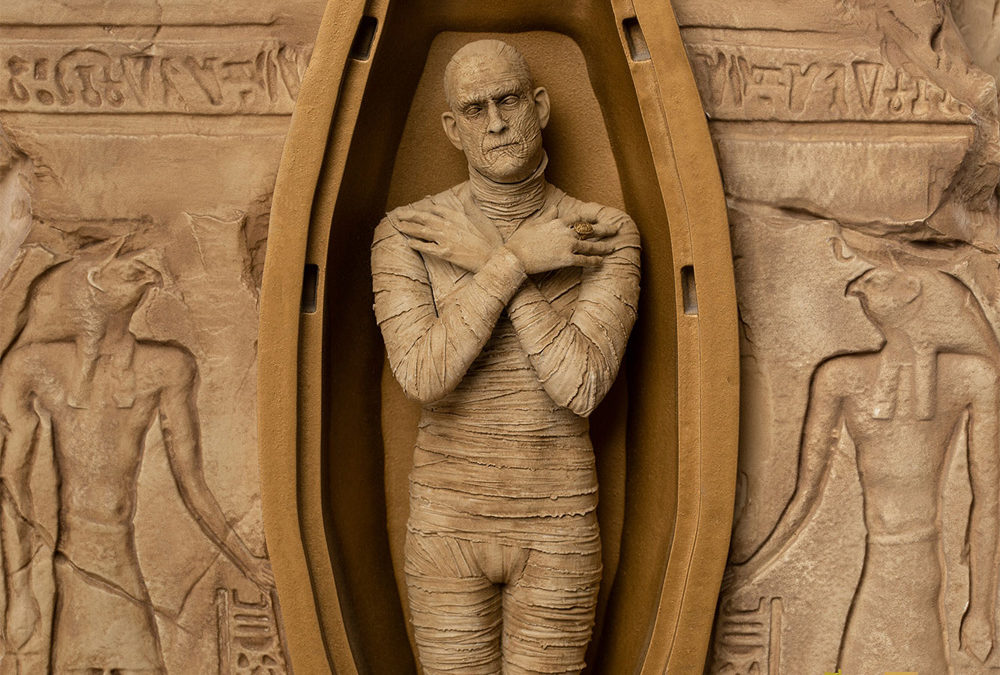 """Iron Studios Unearths """"The Mummy"""" With New Limited Edition Statue"""